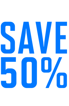 Limited Time! Save 50% on Registration*