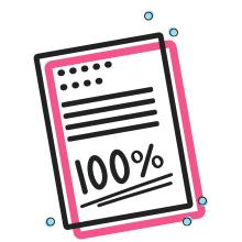 100% grade